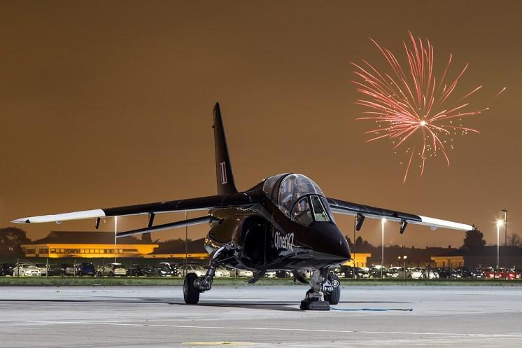© Adam Duffield • Dassault Dornier Alpha Jet ZJ647 • Northolt Nightshoot XVII