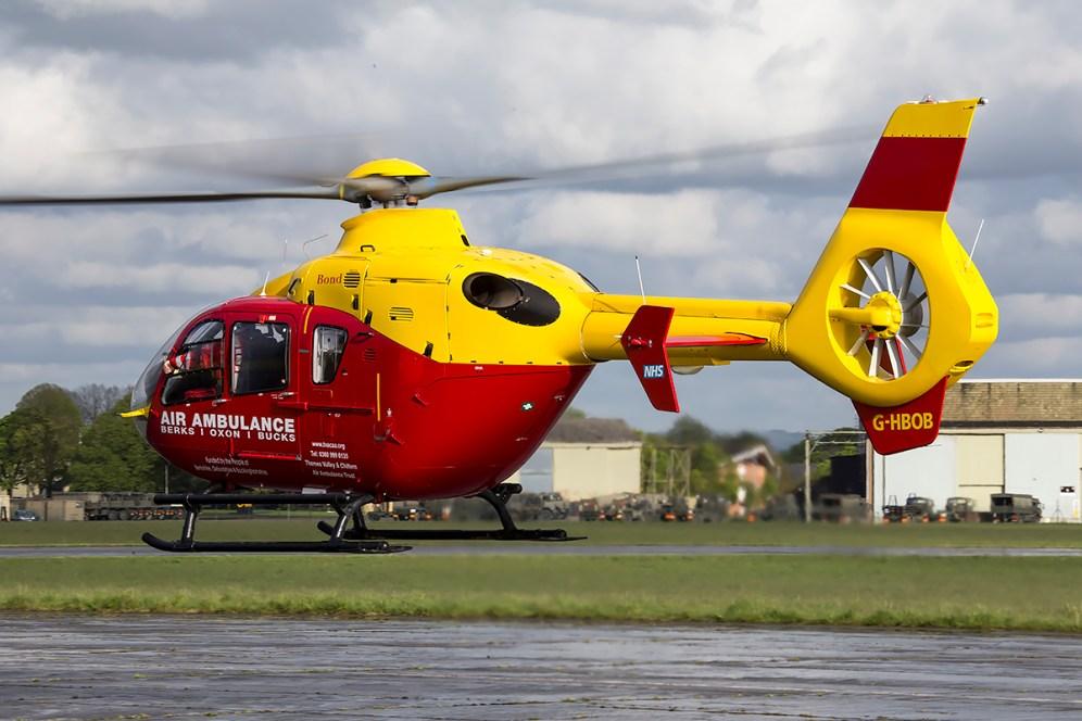 © Adam Duffield • Eurocopter EC-135 G-HBOB • Abingdon Air & Country Show 2015