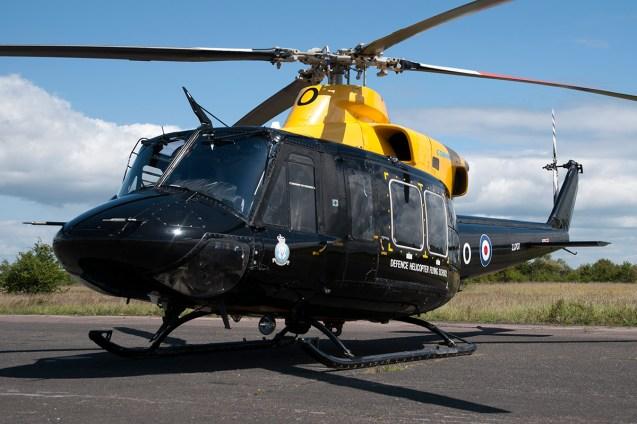 © Duncan Monk • RAF Griffin ZJ707 • Throckmorton Air Show
