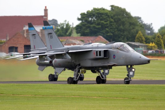 © Mic Lovering • SEPCAT Jaguar Taxi Run • RAF Cosford Air Show 2015