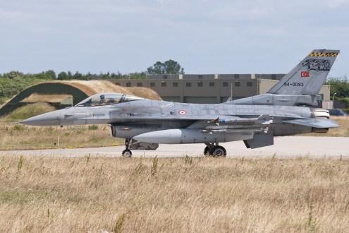 © Duncan Monk • Turkish Air Force F-16C 94-0093 • NATO Tiger Meet 2014
