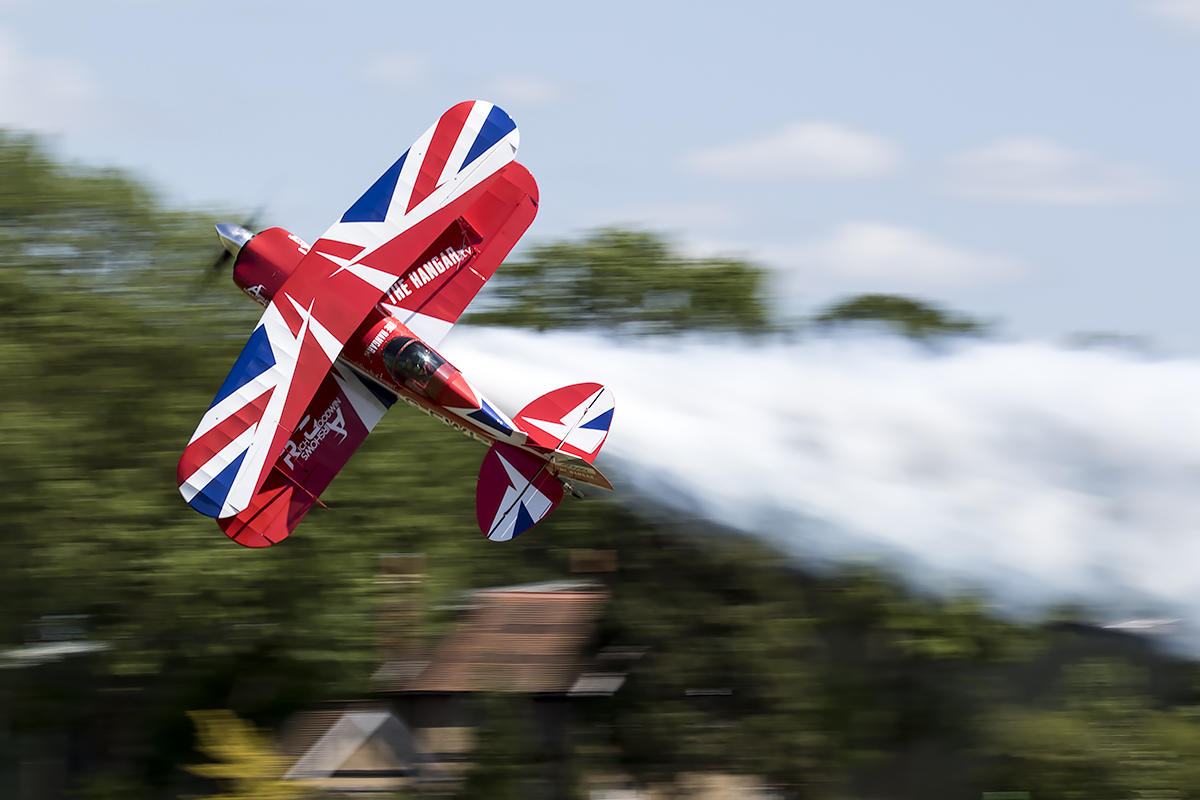© Adam Duffield • Pitts S-2S G-EWIZ • Shuttleworth LAA Party in the Park