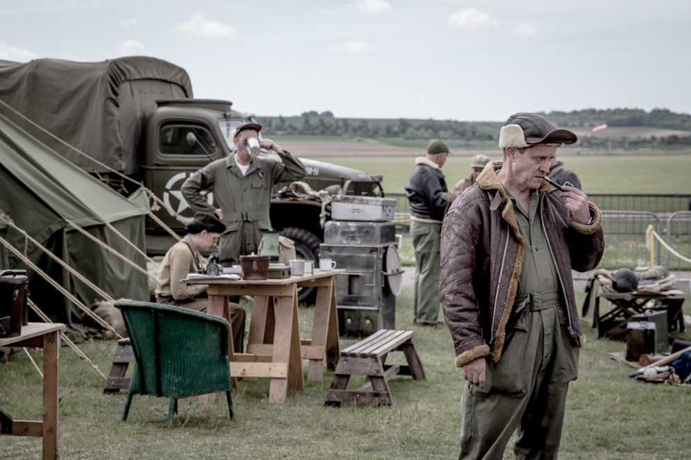 © Adam Duffield • Re-enactors • Duxford VE Day 70th Anniversary Airshow