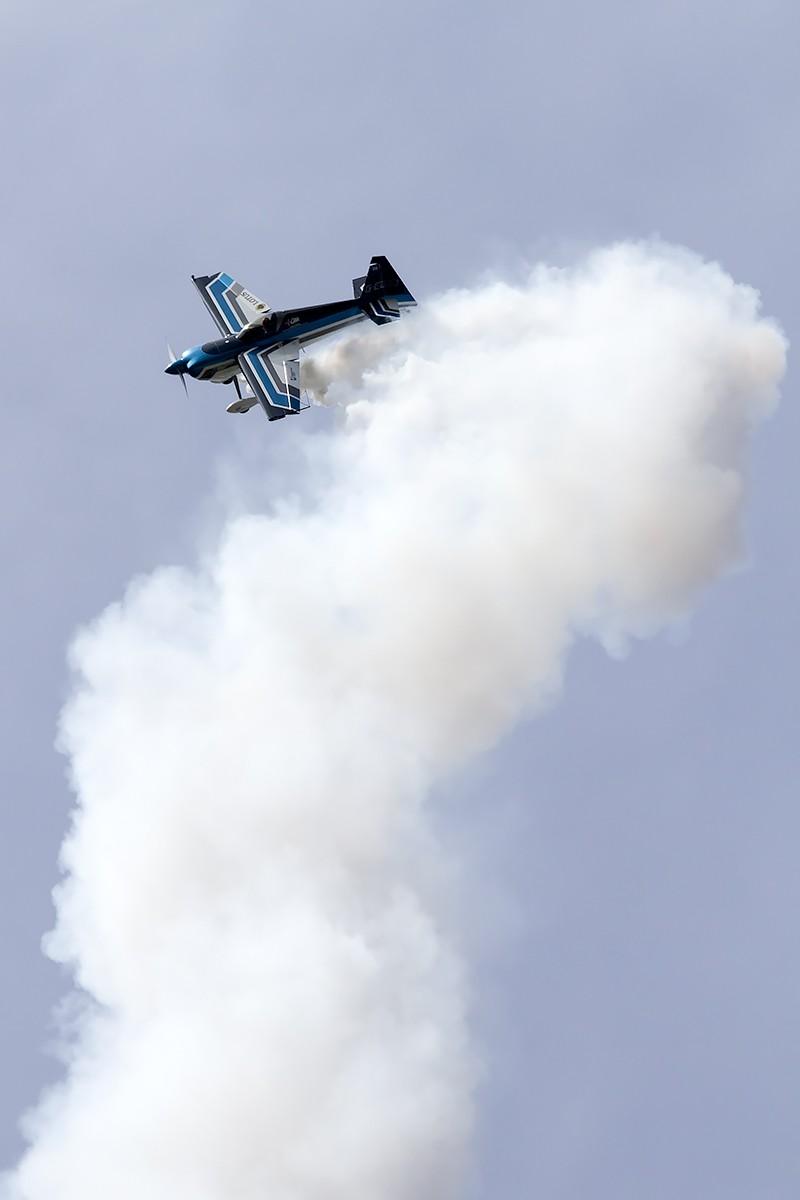 © Adam Duffield • Wildcat Aerobatics Edge 360 G-EDGJ• Old Buckenham Airshow 2014