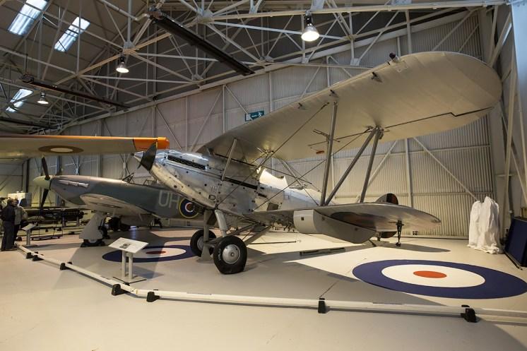 © Adam Duffield • Hawker Hind & Hawker Hurricane Mk2c LF738 • RAFM Cosford