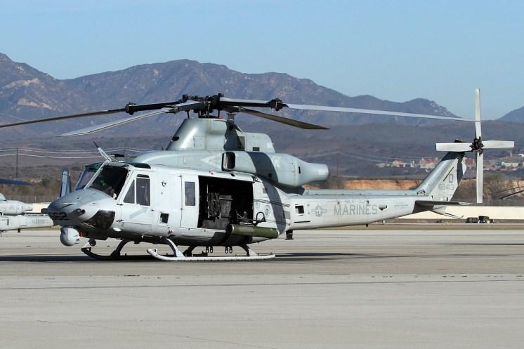 © Mark Forest • Bell UH-1Y Venom 168413 • Marine Corps Base Camp Pendleton