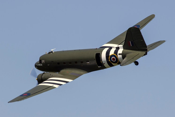 © Adam Duffield • BBMF C-47A Dakota ZA947 • Shuttleworth LAA Party in the Park