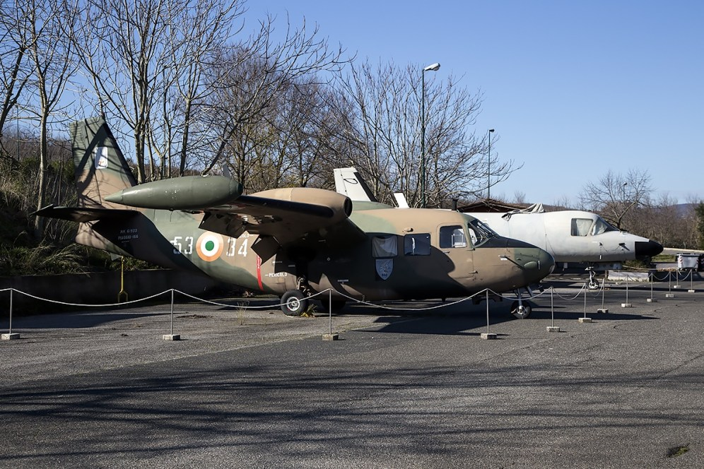 © Adam Duffield • Piaggio PD-808 MM61961 & P-166 MM61933 • Italian Air Force Museum
