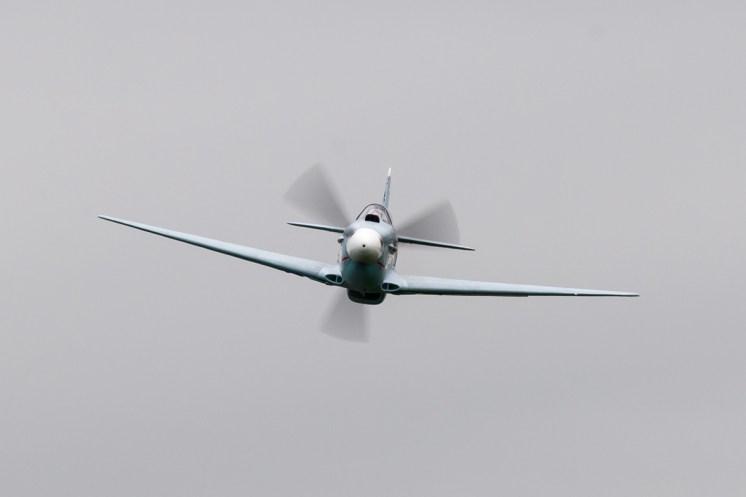 © Duncan Monk • Yakovlev Yak-3 'White 100' • Duxford VE Day 70th Anniversary Airshow
