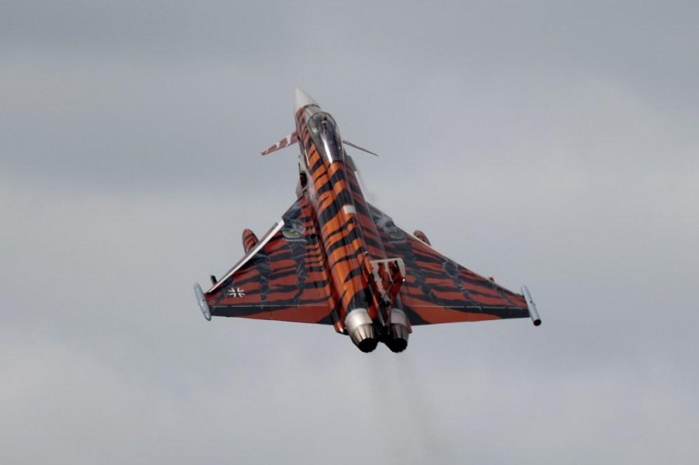 © Duncan Monk • German Air Force EF2000 Special • NATO Tiger Meet 2014