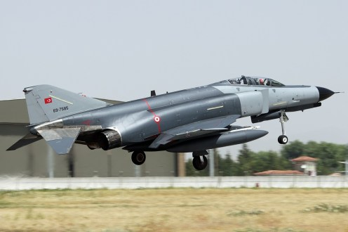 © Mark Kwiatkowski • TuAF F-4E 69-7585 • Anatolian Eagle 2014