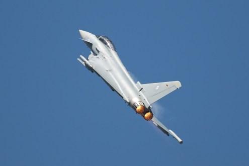 © Duncan Monk • German Air Force Eurofighter Display • RDAF Karup Airshow 2014