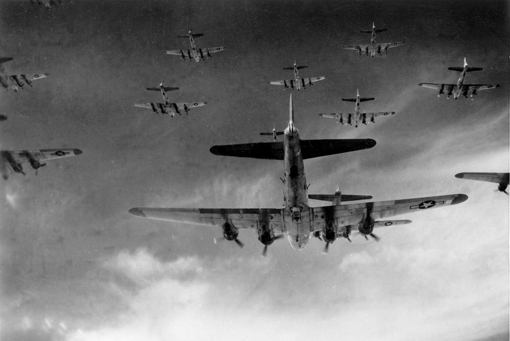 © United States Government - Boeing B-17G Flying Fortress • 8th Air Force