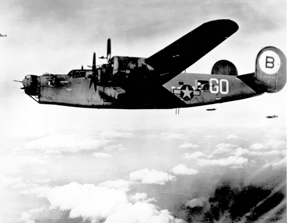 © United States Government - Consolidated B-24 Liberator • 8th Air Force