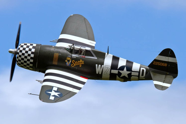 © Ben Montgomery - Republic P-47G Thunderbolt • 8th Air Force