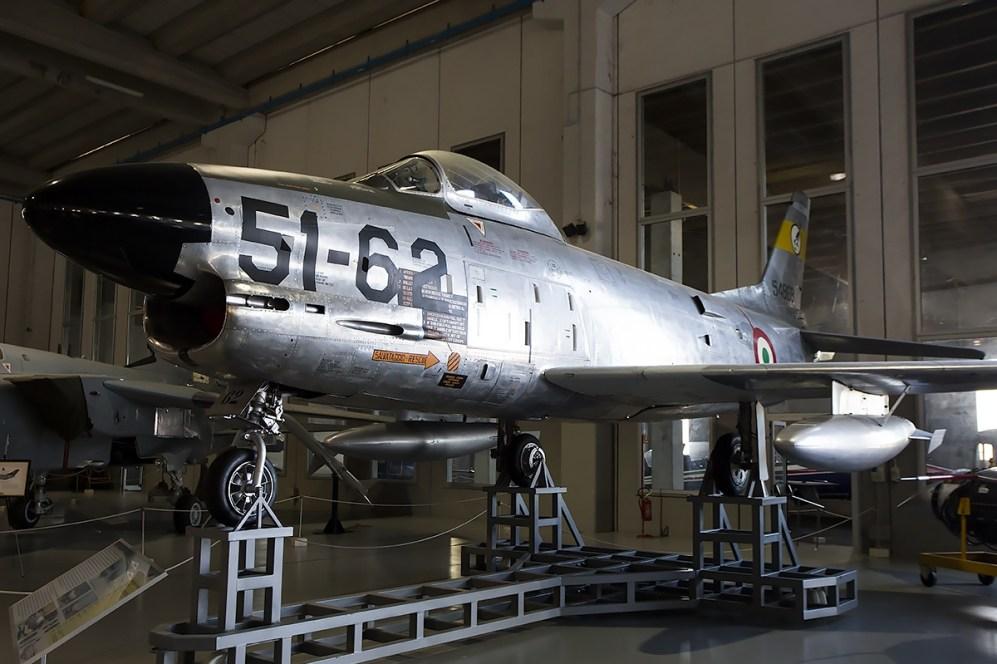 © Adam Duffield • North American F-86K MM55-4868 • Italian Air Force Museum