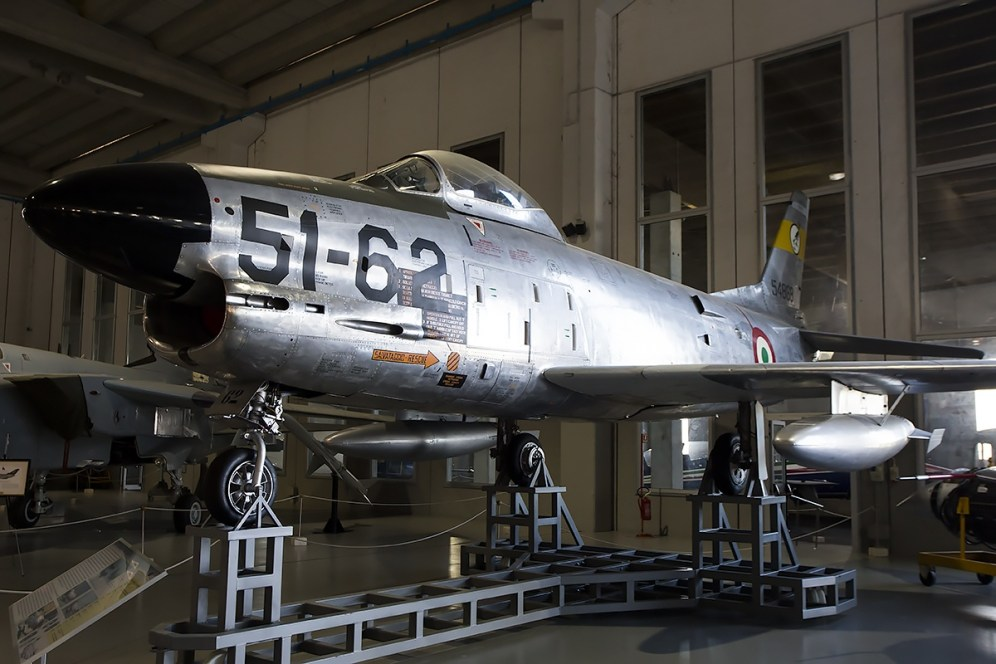 © Adam Duffield • North American F-86K MM55-4868 • Italian Air Force Museum