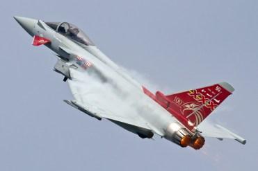 © Ben Montgomery • Eurofighter Typhoon FGR4 ZK353 • Duxford VE Day 70th Anniversary Airshow