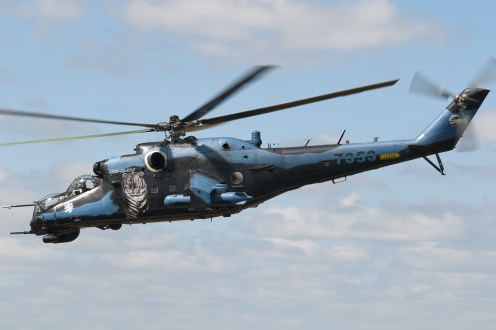 © Duncan Monk • Czech Air Force Mi-24 • NATO Tiger Meet 2014