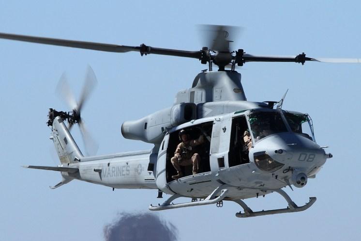 © Mark Forest • Bell UH-1Y Venom • Marine Corps Base Camp Pendleton