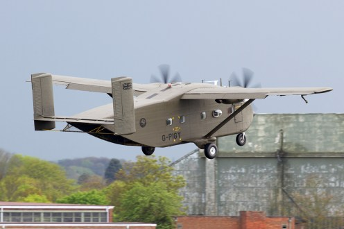 © Michael Lovering • Short Skyvan G-PIGY • Abingdon Air & Country Show 2015