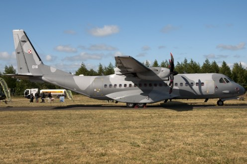 © Duncan Monk • Polish Air Force Casa C-295 • RDAF Karup Airshow 2014
