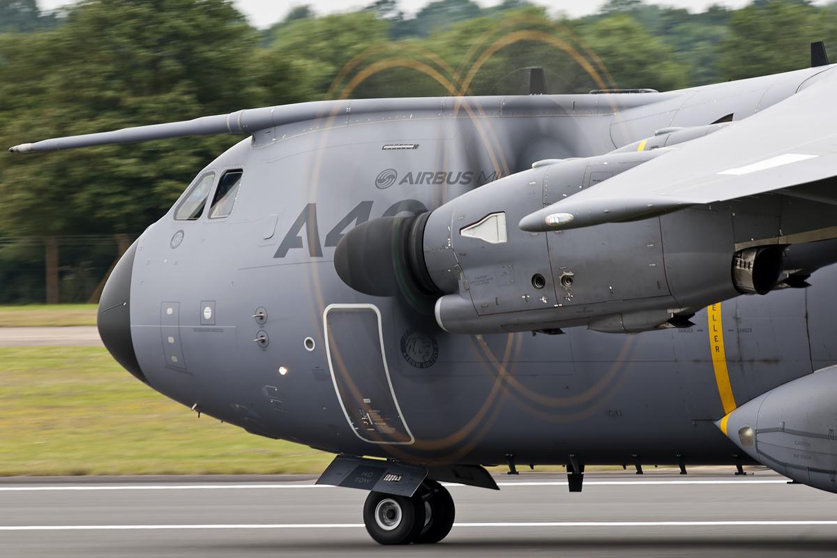 © Duncan Monk • Airbus A400M • Royal International Air Tattoo (RIAT) - RAF Fairford, UK