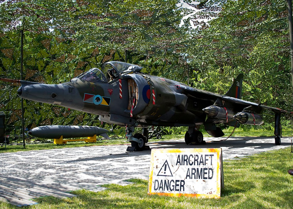 © Adam Chittenden • RAF Harrier GR3 - Cosford 2013