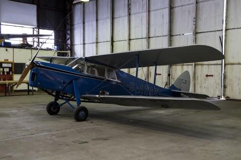 © Adam Duffield • de Havilland Hornet Moth G-AESEA • Classic Air Force Open Day