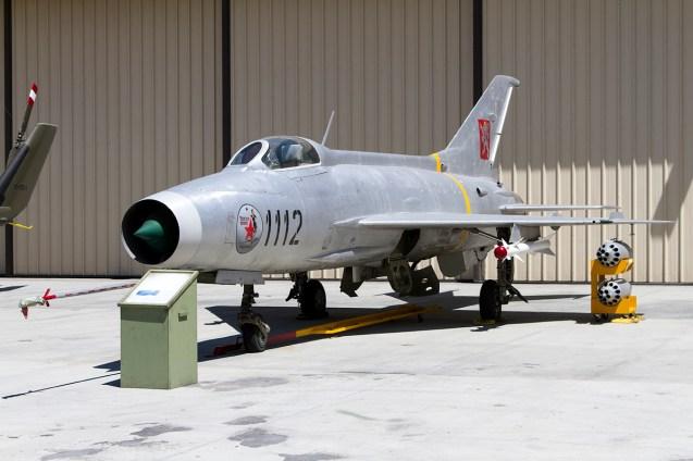 © Adam Duffield • Mig 21MF 1112 • Palm Springs Air Museum