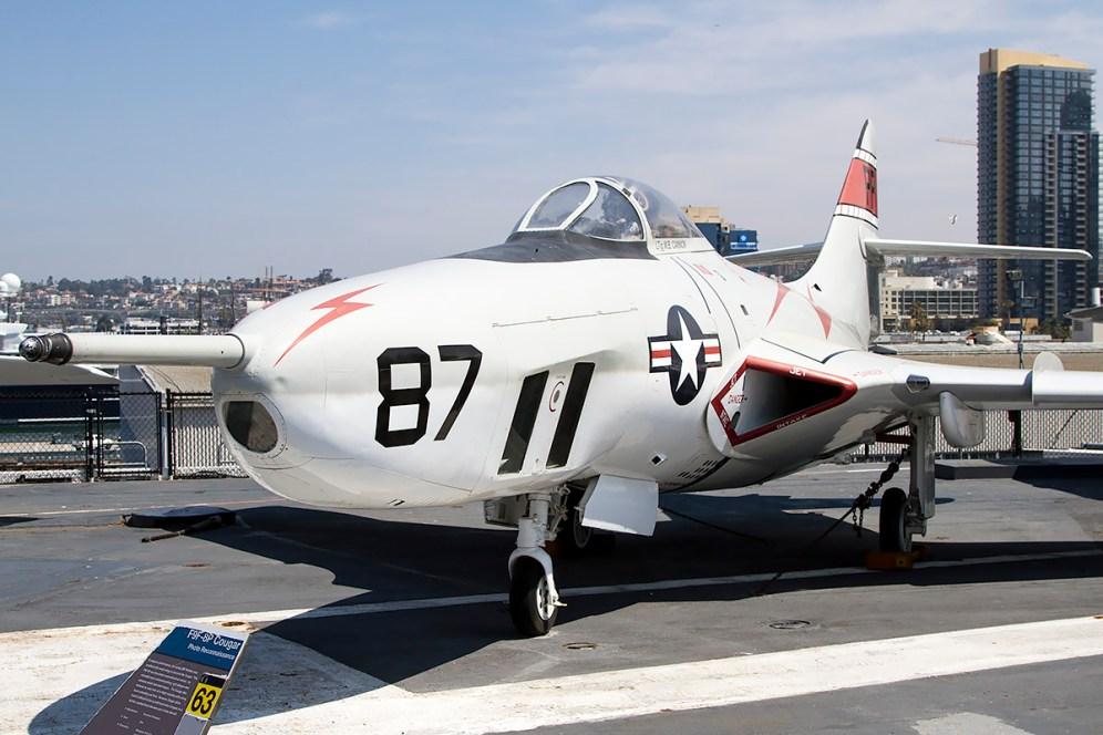 © Adam Duffield • Grumman F-9F-8P Cougar 141702 • USS Midway Museum