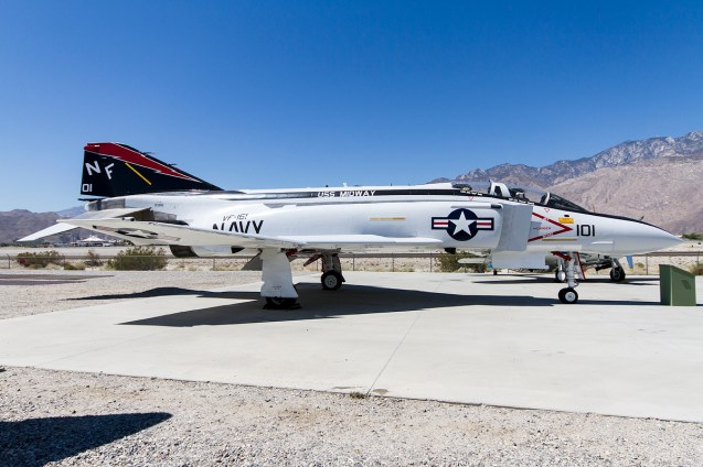 © Adam Duffield • McDonnell Douglas F-4S Phantom 153851 • Palm Springs Air Museum