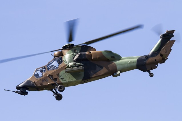 © Adam Duffield • French Army Eurocopter Tigre BHE • Air14 Payerne Weekend 1