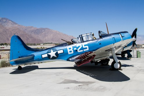 © Adam Duffield • Douglas Dauntless SBD-5 36176 • Palm Springs Air Museum