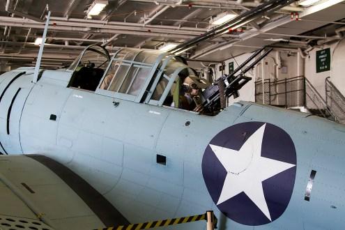 © Adam Duffield • Douglas SBD-5 Dauntless • USS Midway Museum