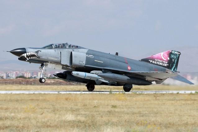 © Mark Kwiatkowski • TuAF F-4 Phantom • Anatolian Eagle 2015