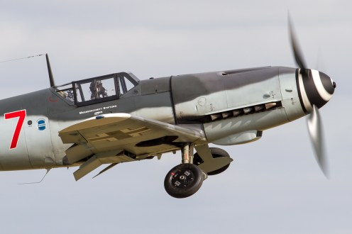 © Ben Montgomery • Messerschmitt Bf-109 D-FWME • Flying Legends 2015