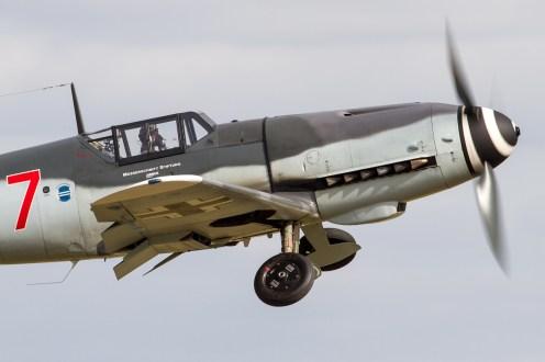 © Ben Montgomery • Messerschmitt Bf-109 D-FWME • Flying Legends 2015