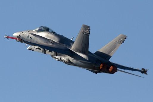 © Mic Lovering • Finish F-18 Hornet • RIAT 2015