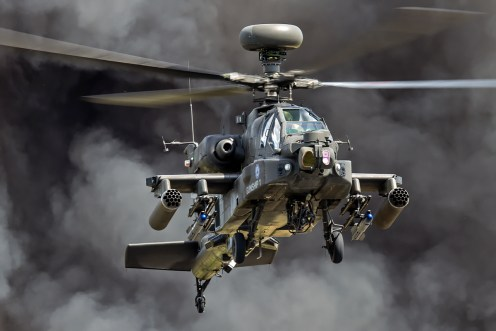 © Ben Montgomery • Army Air Corps Apache Demo • RIAT 2015