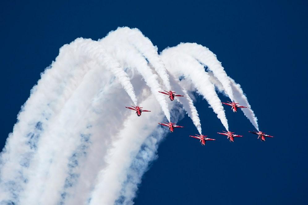 © Adam Duffield • The RAF Red Arrows • RIAT 2015
