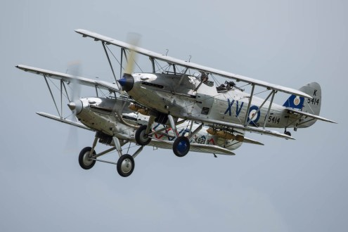 © Harry Measures • Hawker Hind & Hawker Demon • Shuttleworth Military Pageant