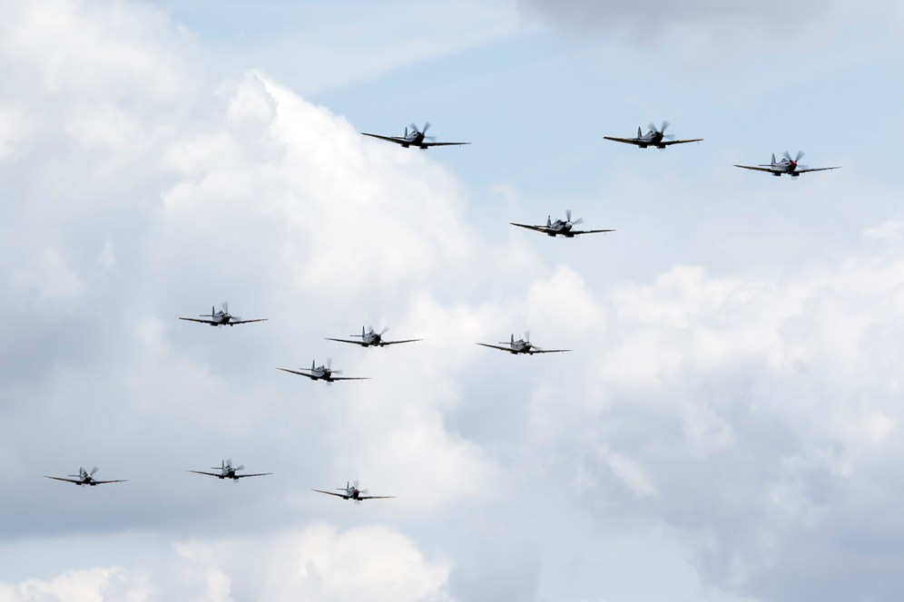 © Adam Duffield • Spitfire Formation • Flying Legends 2015