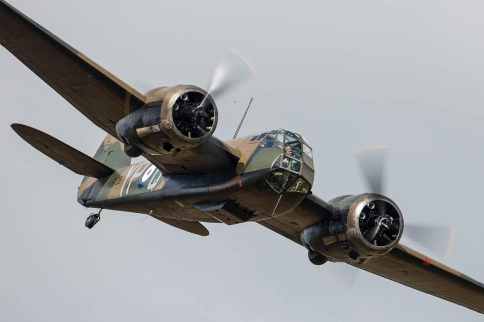 © Harry Measures • Bristol Blenheim • Shuttleworth Military Pageant