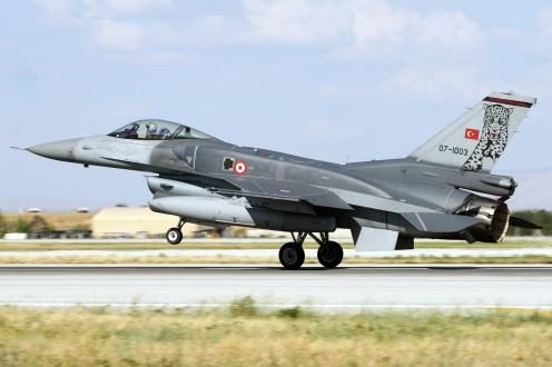 © Mark Kwiatkowski • TuAF F-16C 88-0033 • Anatolian Eagle 2015
