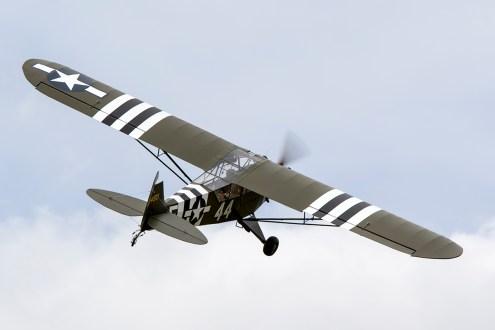 © Adam Duffield • Piper L-4J G-BECN • Old Buckenham Airshow 2015