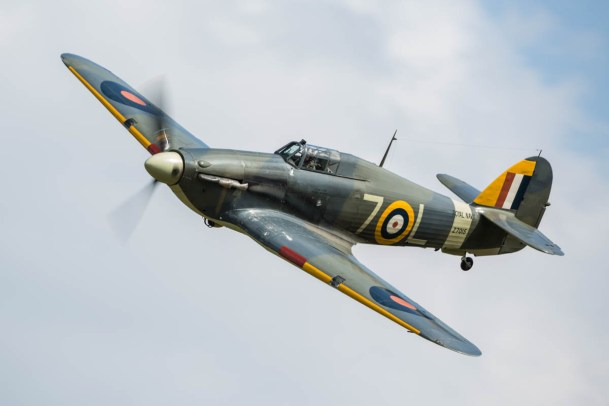 © Harry Measures • Hawker Sea Hurricane • Shuttleworth Military Pageant