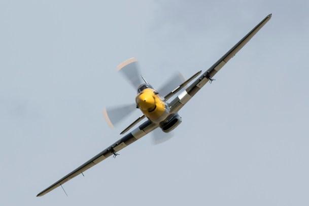© Adam Duffield • P-51D Mustang Ferocious Frankie G-BTCD • Old Buckenham Airshow 2015