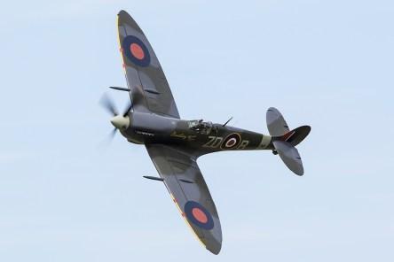 © Adam Duffield • Supermarine Spitfire MkIX MH434 G-ASJV • Old Buckenham Airshow 2015