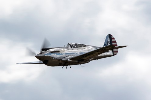 © Adam Duffield • Curtiss P-40C G-CIIO • Flying Legends 2015